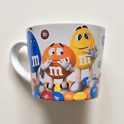 M&M's Mug Official Licensed Product 2016 Jumbo Sized Multicolored Pencil Cup