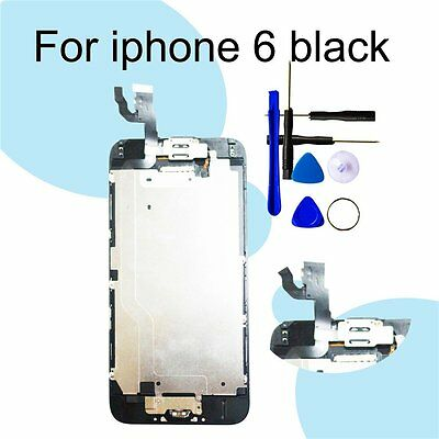 CA and Assembly Screen Replacement For iPhone 6 LCD Digitizer+Camera+Home Button