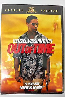 Video DVD - Out of Time - Denzel Washington Special Edition - NEW Open WORLDWIDE