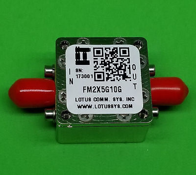 Passive Frequency Multiplier X2 (OUTPUT 5 GHz to 10 GHz) FM2X5G10G