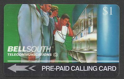 Bell South 1994 $1 Trial Phone Card Mint