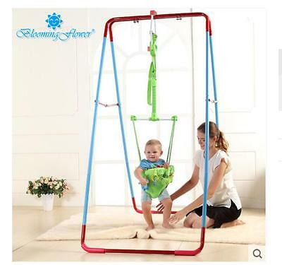 Fashion Green Adjustable Length 140-237CM Children Hanging/Jump Chair Toys *2