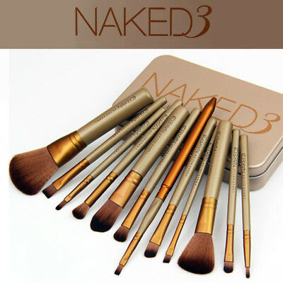 Professionelle Make Up Pinsel Set Brush Kosmetik Bürste Set Urban Decay naked 3