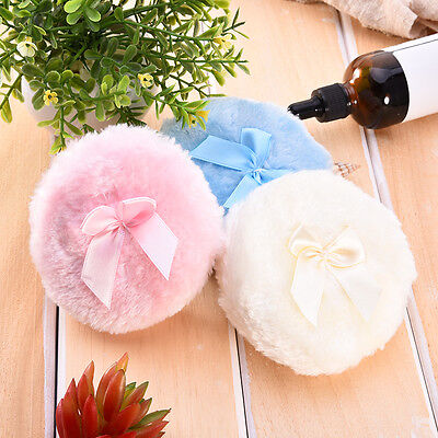 Baby Soft Face Body Cosmetic Beauty Large Powder Puff Sponge Makeup Tool Colorfu