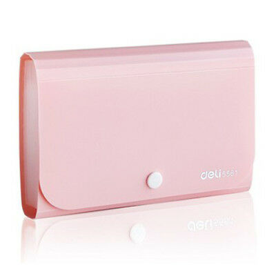 SS (Office Supply Mini Expanding File,Pink G5H7