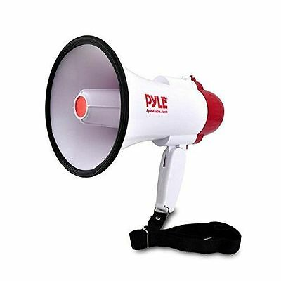 Pyle-Pro Professional Megaphone/Bullhorn with Siren, PMP30, New