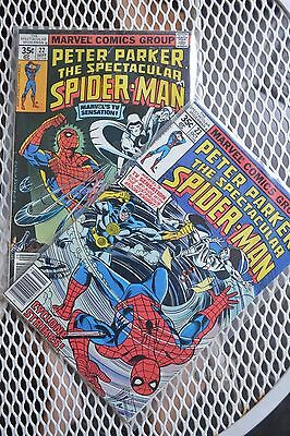 Peter Parker:The Spectacular Spider-man(1st Series) #22 & 23, 2 part story.1978