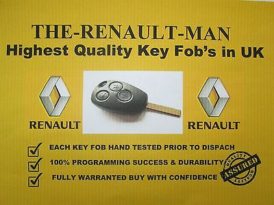 3 button key fob suitable for Renault clio lll Kangoo ll Master lll  and Modus