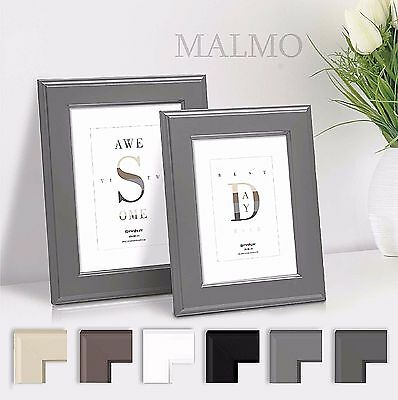 elegante klassische bilderrahmen fotorahmen foto rahmen 10x15 cm bis 40x50cm eur 6 90. Black Bedroom Furniture Sets. Home Design Ideas
