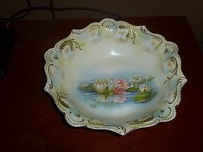 RS Prussia Water Lily Bowl