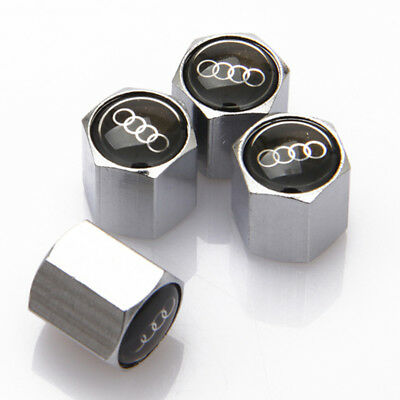 Universal Car Badge Wheel Tire Valve Cap Tyre Dust Cap For Audi A3 A4 A5 S3 S4