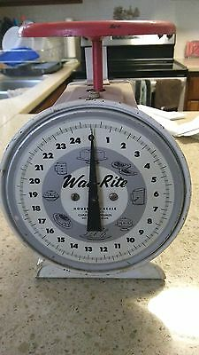 Vintage Way Rite Scale 25lbs