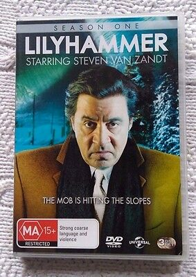 Lilyhammer- Season 1 (Dvd, 3-Disc Set) R- 2+4, Like New, Free Post In Australia