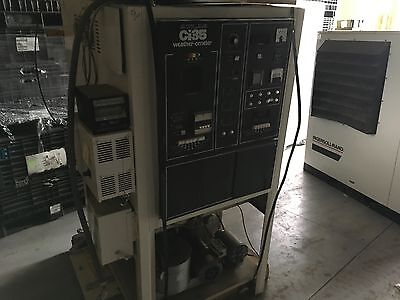 Atlas Ci35 weather-ometer, model CI35W, 230v, 65/40amps, phase 1/3, no panels