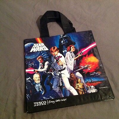 Star Wars Official Classic Episode IV A New Hope Reusable Shopping Bag Tesco