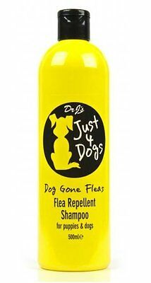 Dr J's Just 4 Dogs Flea Repellent Shampoo For Puppies and Dogs 500ml