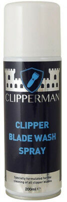 Clipperman Clipper BLADE WASH SPRAY Clean Trimmer Clipper 200ml CLP0075