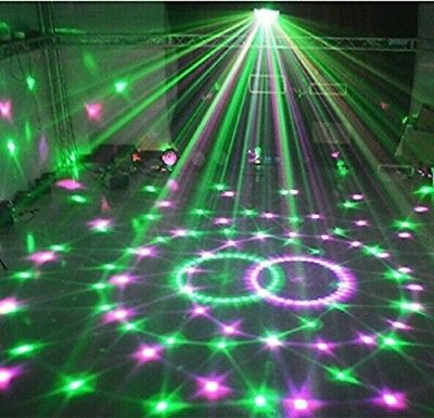 RGB Projector LED Stage Light Club DJ Party Ball Disco 6 Colors Crystal Lighting