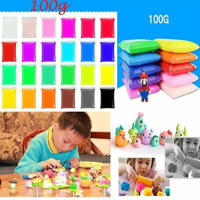 100g Baby Toys Drying Soft Clay Moulding Diy Plasticine Polymer