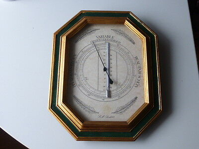 Barometer mit Thermometer Made in France
