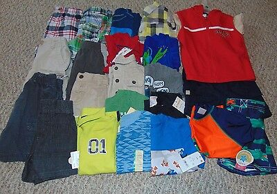Lot Boy Clothes size 18 months Summer Outfits Shirts and  Shorts Really Nice