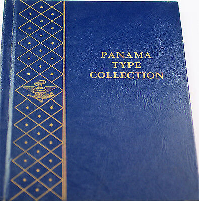 Panama Type Collection Empty Whitman Used Coin Folder 9519