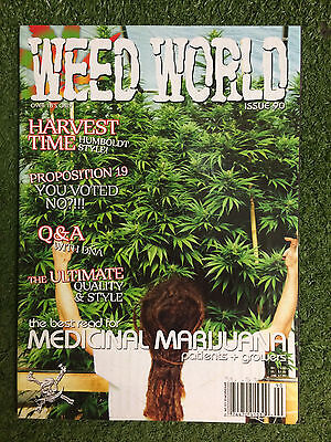 Weed World Magazine Back Issue No. 90