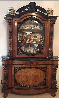 Antique Display Cabinet. Late 19th Century