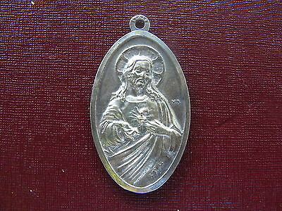 Catholic Religious 925 Stering Silver Blessing Charm Medal Pendant