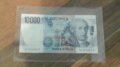 10000 Italian Lire Bank Note 1984. Vintage and Highly Collectable.