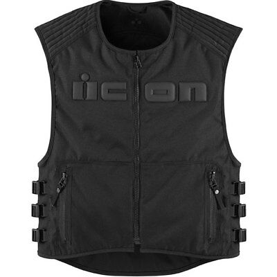 Icon Brigand Textile Vest Powersports Motorcycle