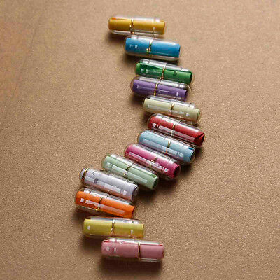 24x Love letter Voucher Capsules Mini Message in a bottle Christmas Gift