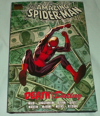 AMAZING SPIDER-MAN HC - DEATH AND DATING - Marvel (Like New)