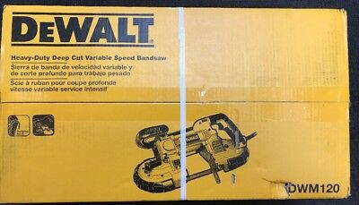 DEWALT DWM120 Heavy-Duty Deep Cut Variable Speed Bandsaw