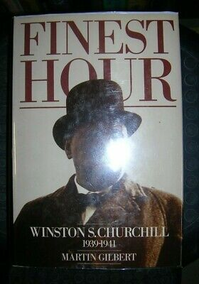 FINEST HOUR: WINSTON S. CHURCHILL 1939-1941., Gilbert, Martin., Used; Very Good
