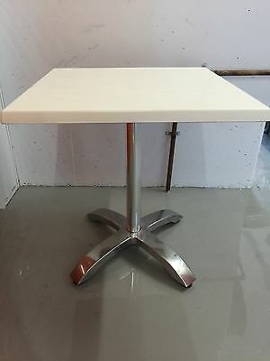 Cafe/Bistro Table  Aida Aluminium Base & Werzalit Resin Top, Fully Assembled