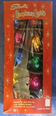 Vintage Box of Silvestri Chistmas Lights