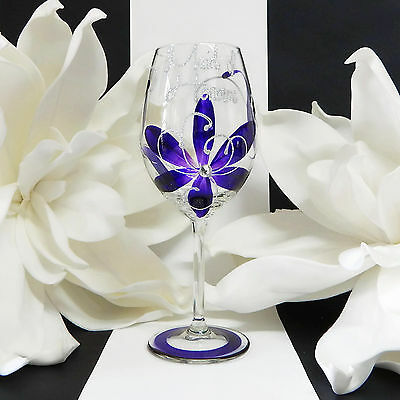Personalised Wedding Wine Glass Gifts For Bridal Party