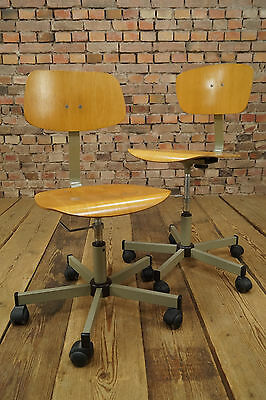 Vintage Architects Swivel Chair Mid-Century Workshop Office Chair Chair 1/2