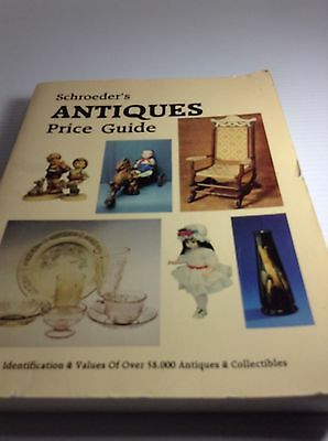 SCHROEDER'S ANTIQUES  PRICE GUIDE FIRST EDITION 1983 LARGE Paperback