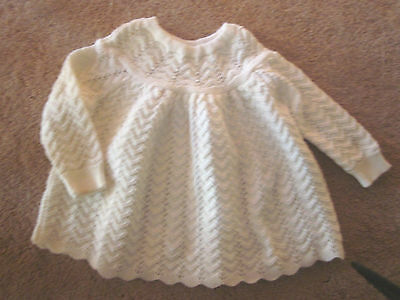 Knitted Baby Angel Top  Size 0  Euc