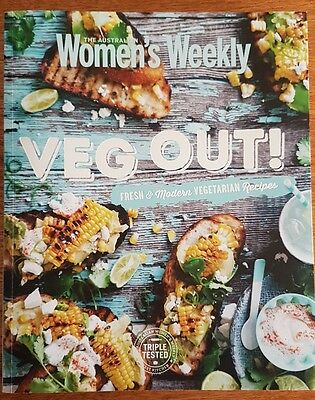 The Australian Women's Weekly Paperback Book * Veg Out * NEW *  FREE POST