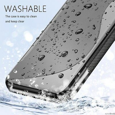 S CURVE GEL TPU CASE COVER FOR New Nokia 3 5 6 8 + Screen Protector