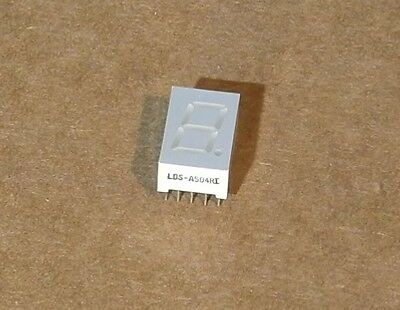 Lumex LDS-A504RI Character LED Display Module Red 7-Segment 1 Character