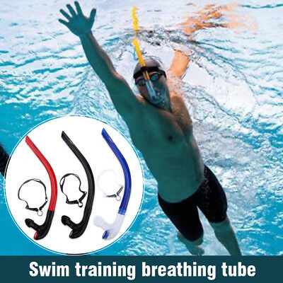 Diving Front Breathing Tube Snorkel Underwater Scuba Silicone Tube OB