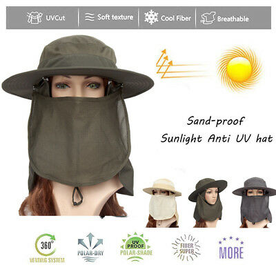 9a491d0f64f Outdoor Unisex Brim Sun Block Quick Drying Fishing Sun Cap Climbing Bucket  Hat