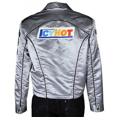 Icy Hot Death Proof Stuntsman Mike Kurt Russell Icy Hot Silver Jacket