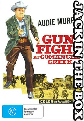 Gunfight At Comanche Creek  DVD NEW, FREE POSTAGE WITHIN AUSTRALIA  REGION ALL