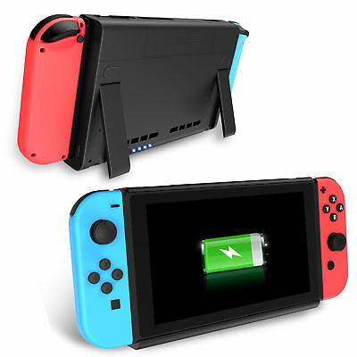 6500mAh Battery Case Cover Power Supply Charging Power Bank For Nintendo Switch