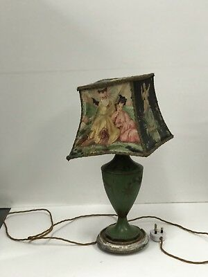 Antique Chinoiserie Lamp